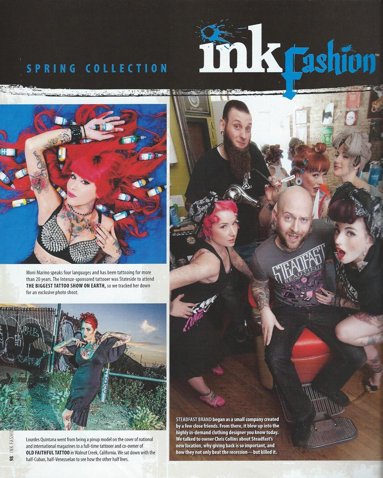 Ink Fashion Magazine 02/2013