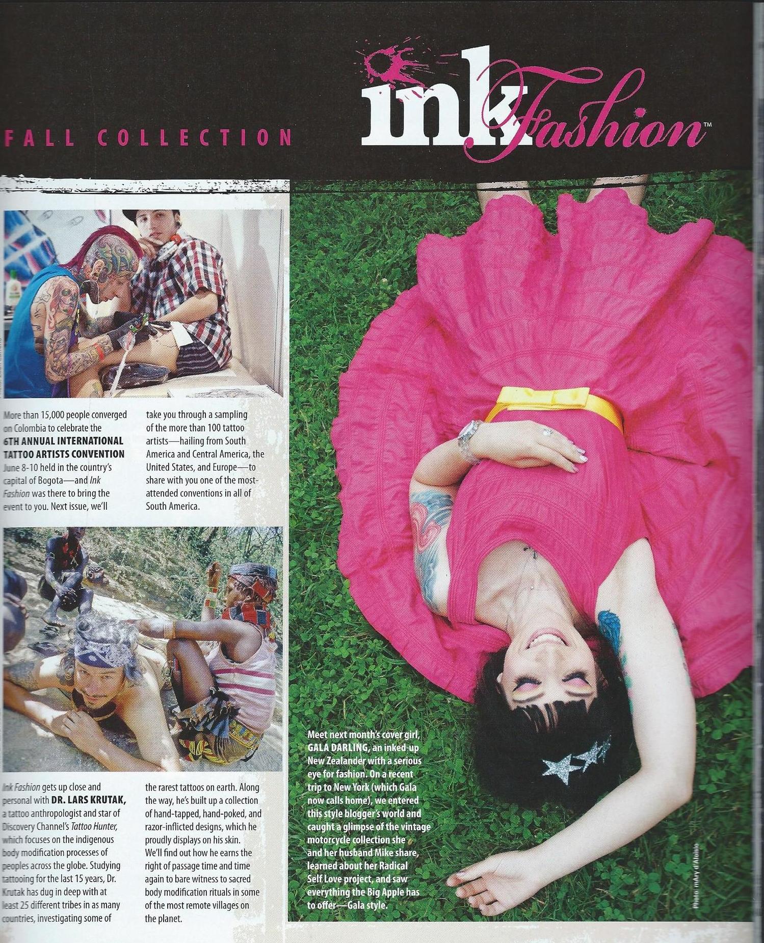 Ink Fashion Magazine