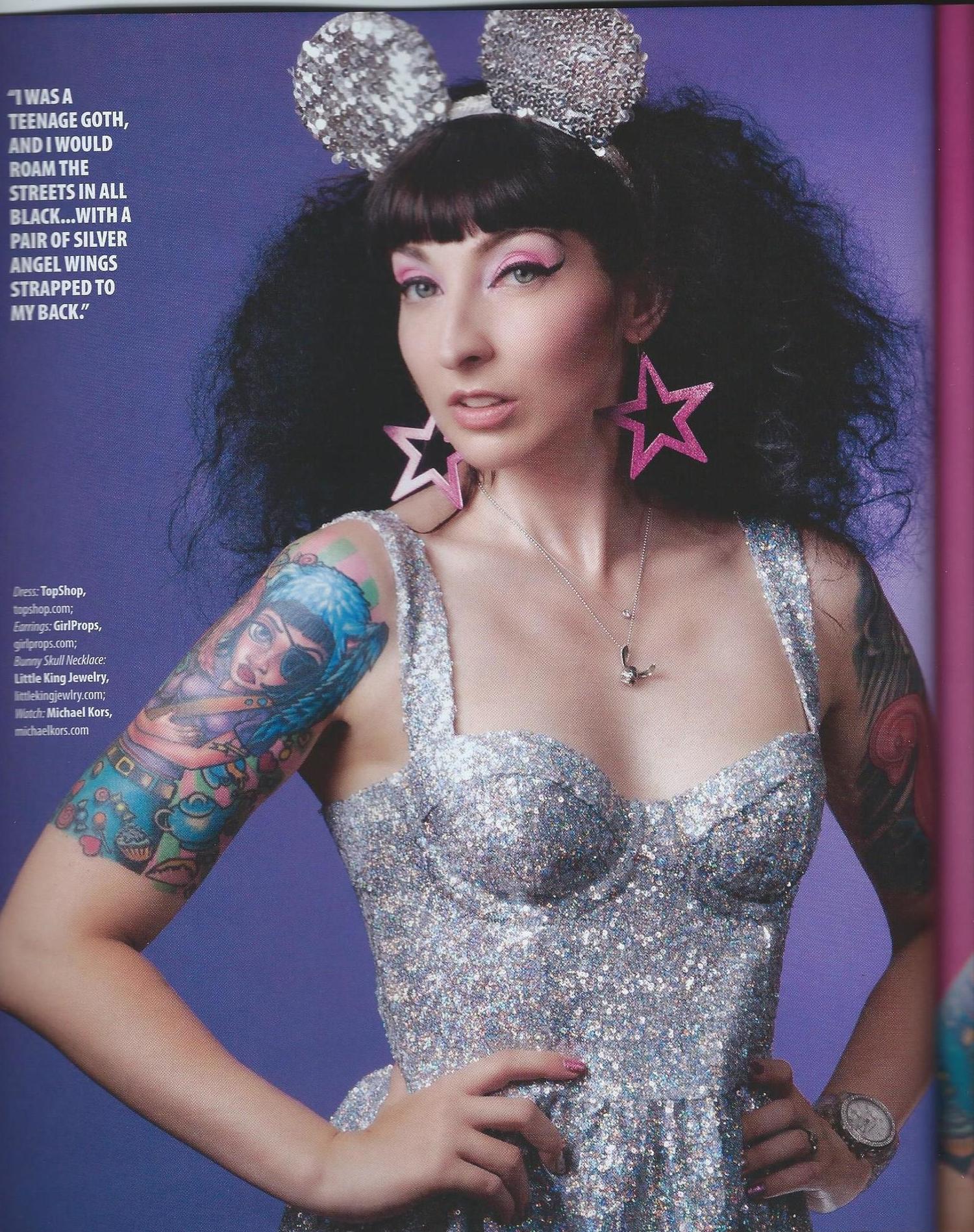 Gala Darling for Ink Fashion Magazine