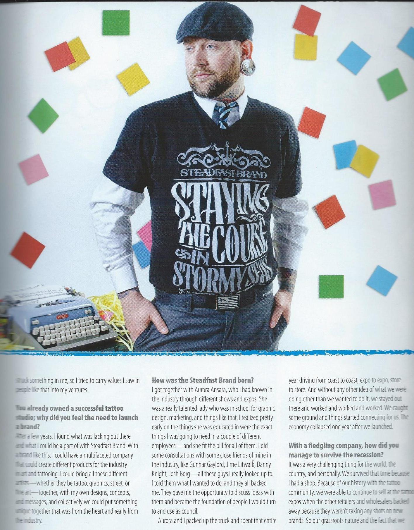 Steadfast Brand | Ink Fashion Magazine