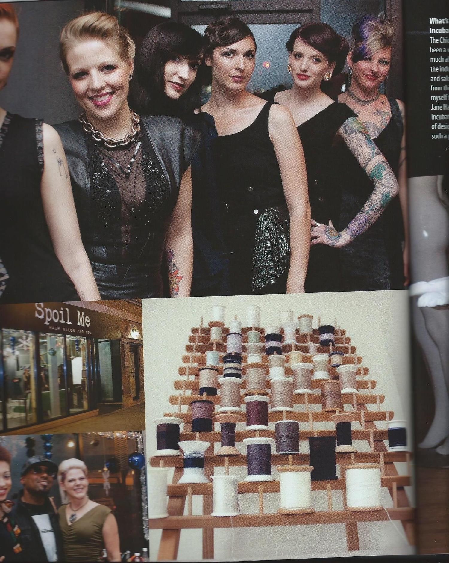 Sarah Church for Ink Fashion Magazine