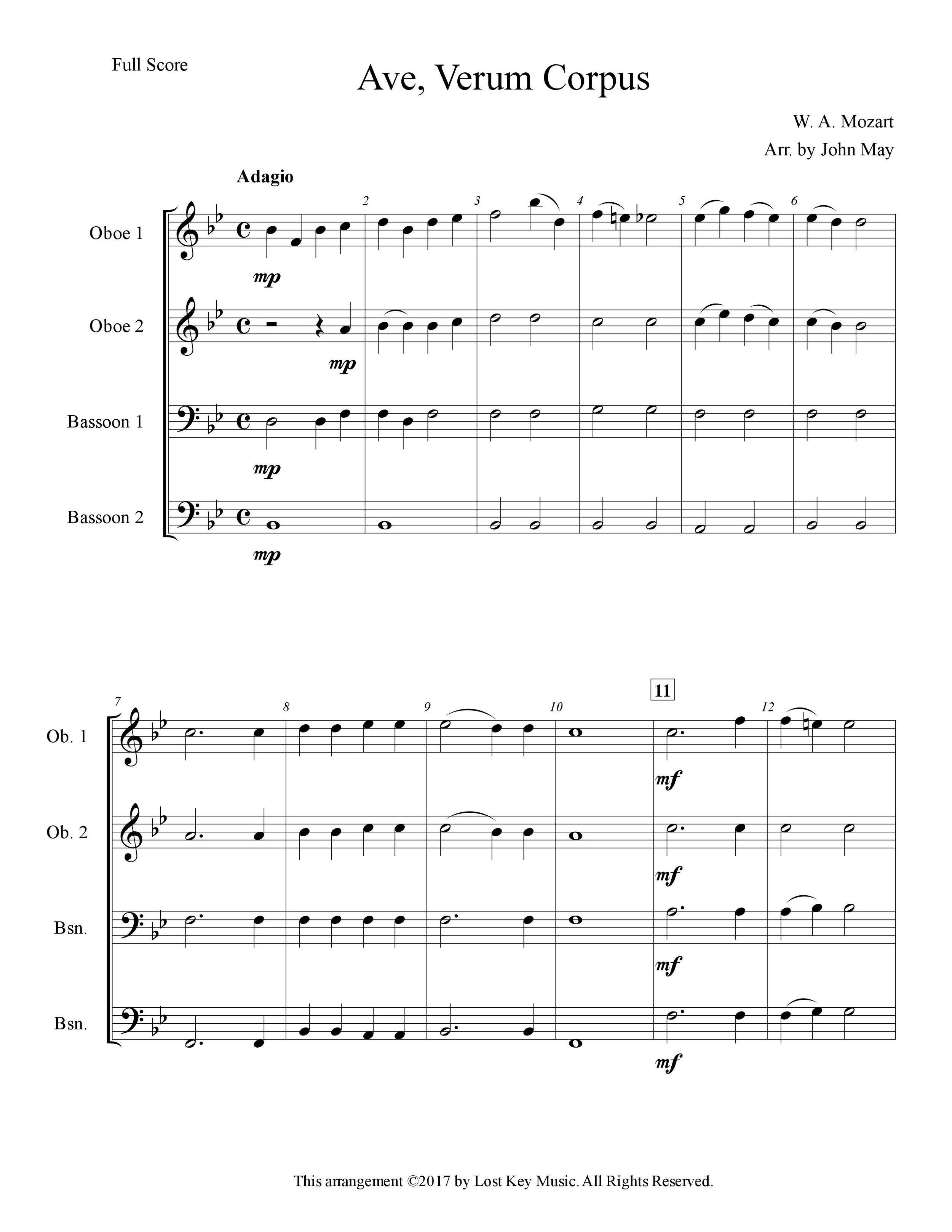 Ave Verum Corpus-Oboe and Bassoon Quartet-Score Sample.jpg