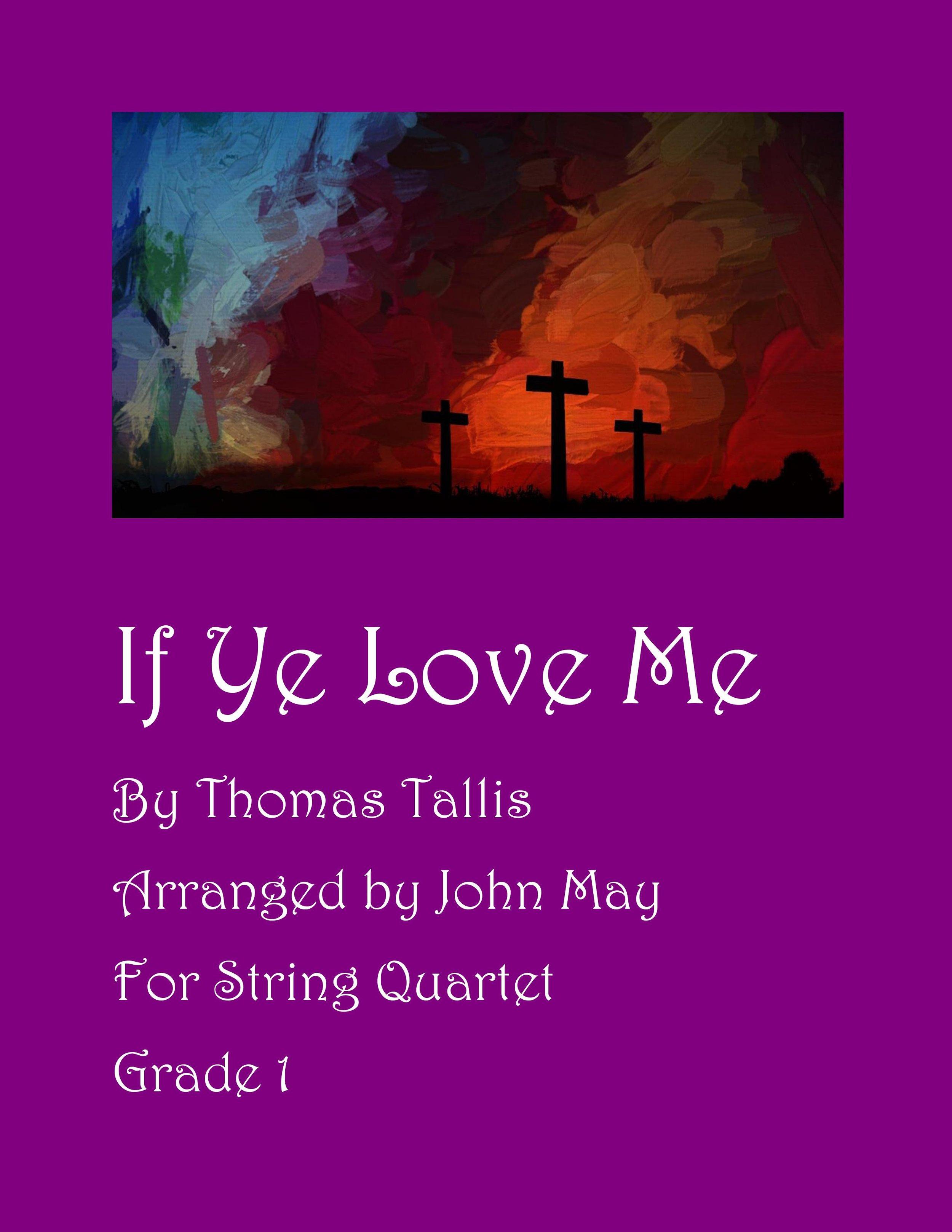 If Ye Love Me-String Quartet-Cover Photo.jpg