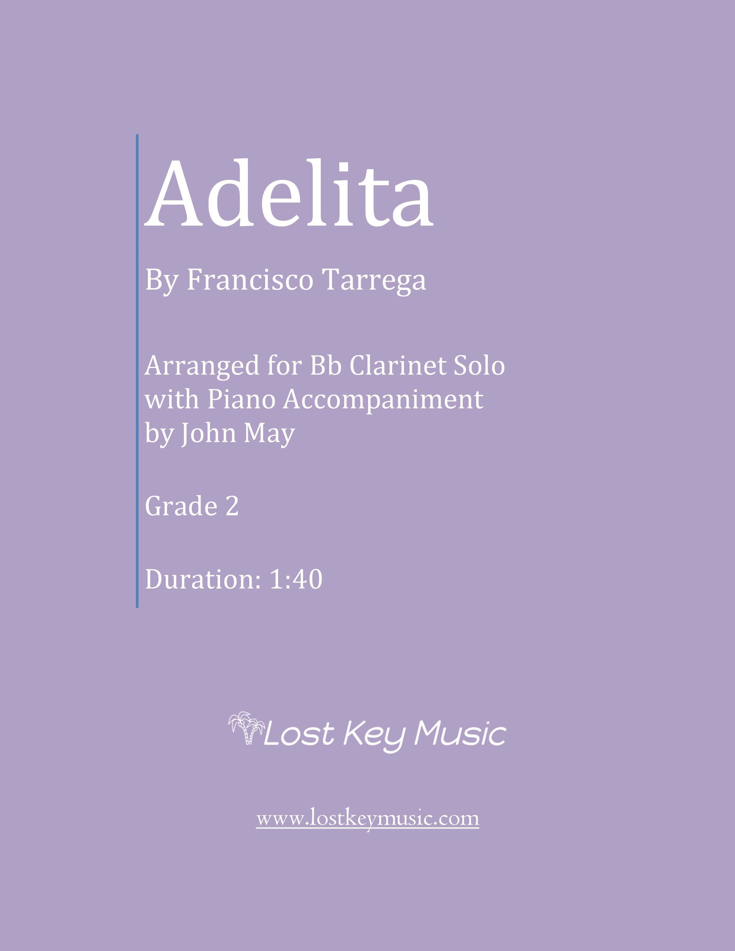 Adelita-Bb Clarinet Solo with Piano Accompaniment-Cover Photo.jpg