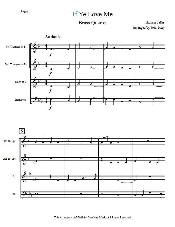 If Ye Love Me-Brass Quartet-Score Sample.jpg