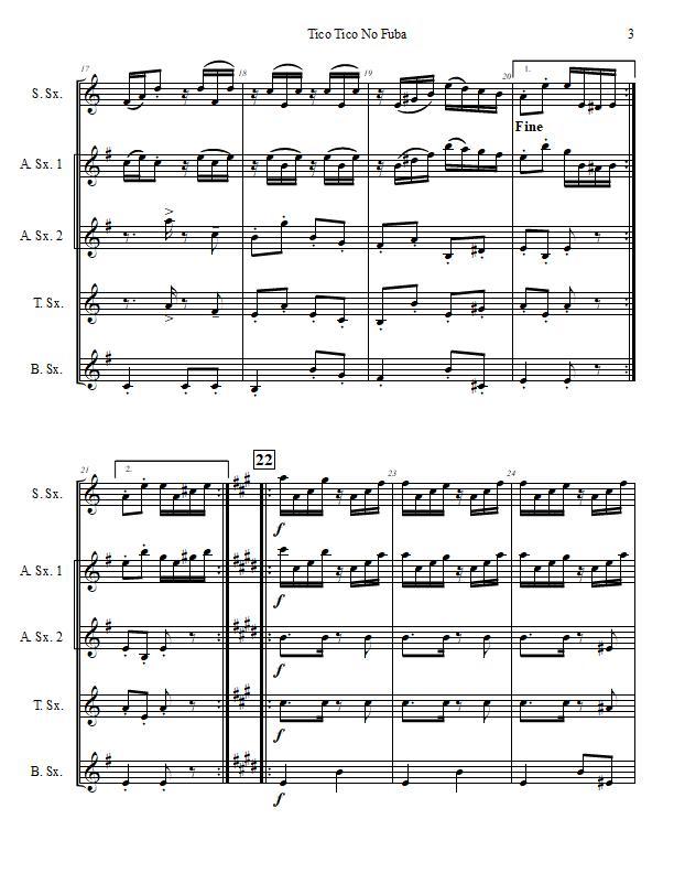 Tico Tico No Fuba Saxophone Quintet-Score Sample p. 3.jpg