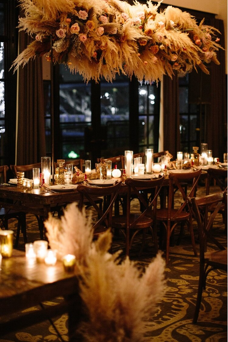 Bohemian Wedding Decor by Sweet August Events