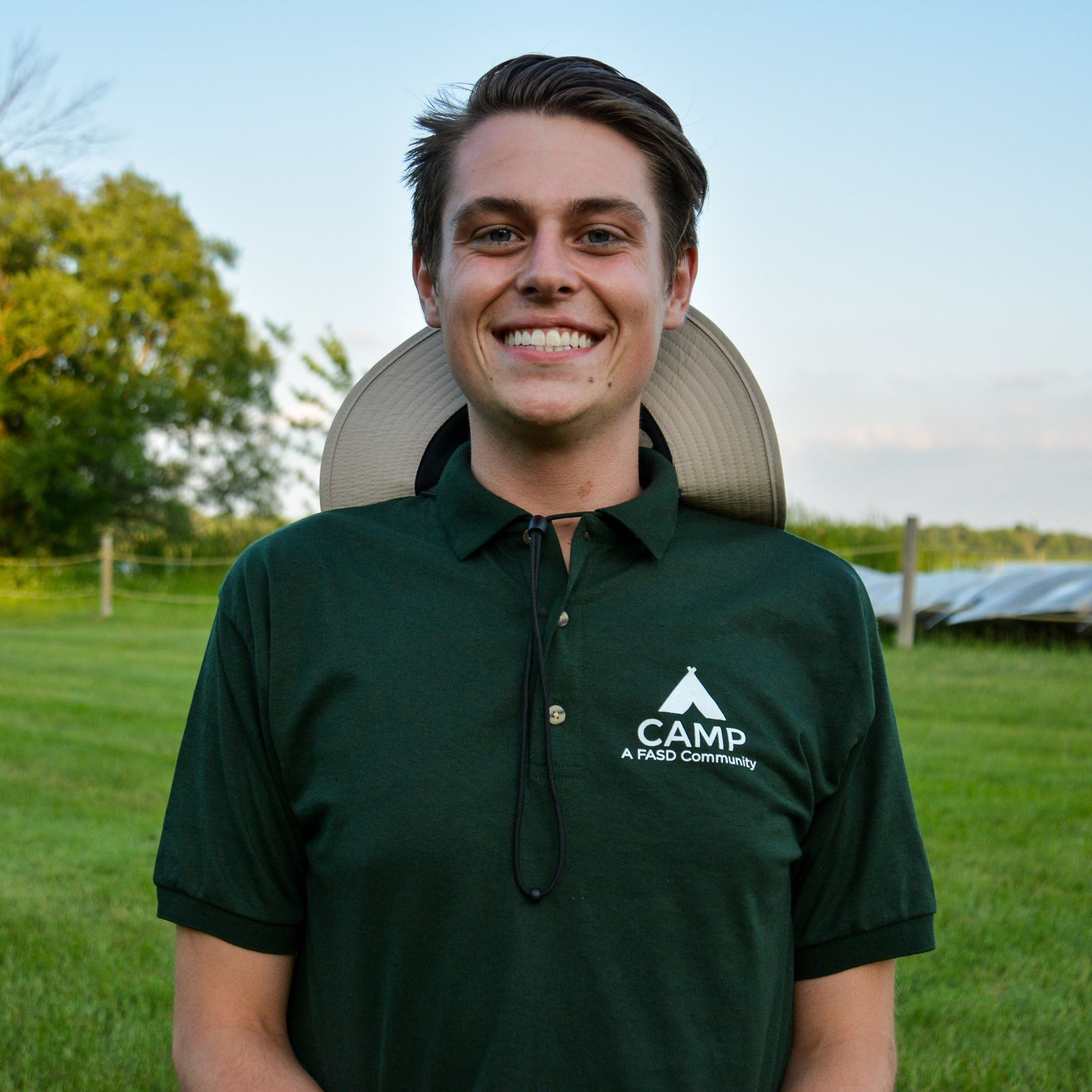 LUCAS WELK     Board of Director    Some of you may recognize Luke as he has served as a counselor at CAMP the past three summers. He studied Biology and Chemistry at DePaul University before studying abroad in Paris during his last quarter and graduating in 2017. While in school, Luke did genetics research and volunteered his time assisting with spay and neuter surgeries at the Anti-Cruelty Society. Currently, Luke works on protein crystallography at Argonne National Laboratory, looking into potential treatment for hypercholesterolemia and Alzheimer's. Luke is passionate about our mission at CAMP, FASD community, and he is looking forward to seeing the organization continue to grow and help the world.