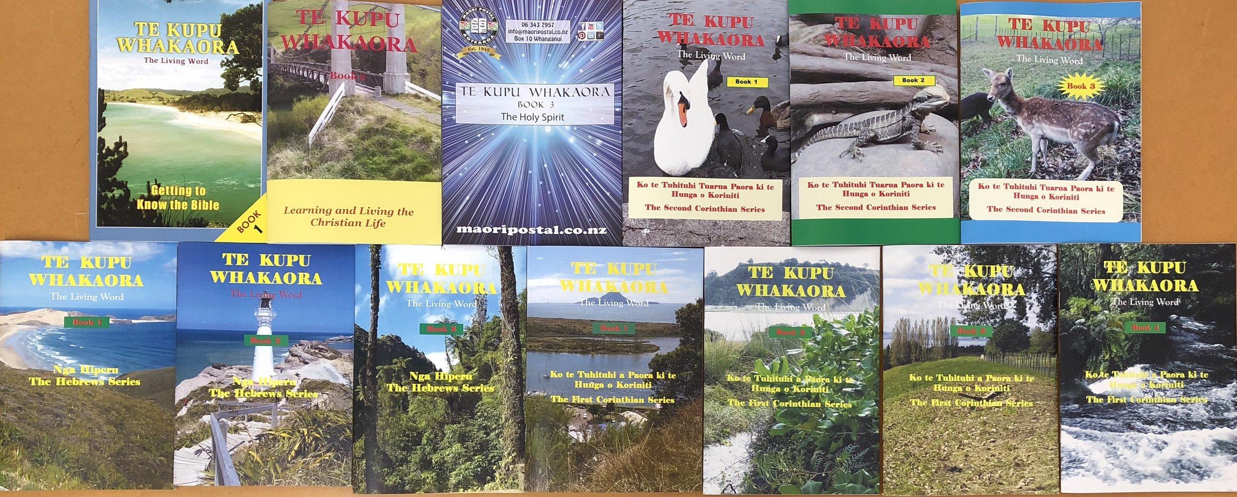 CLICK ON PIC:  Te Kupu Whakaora Studies ( Ako Tahi ),  for new christians and adults.