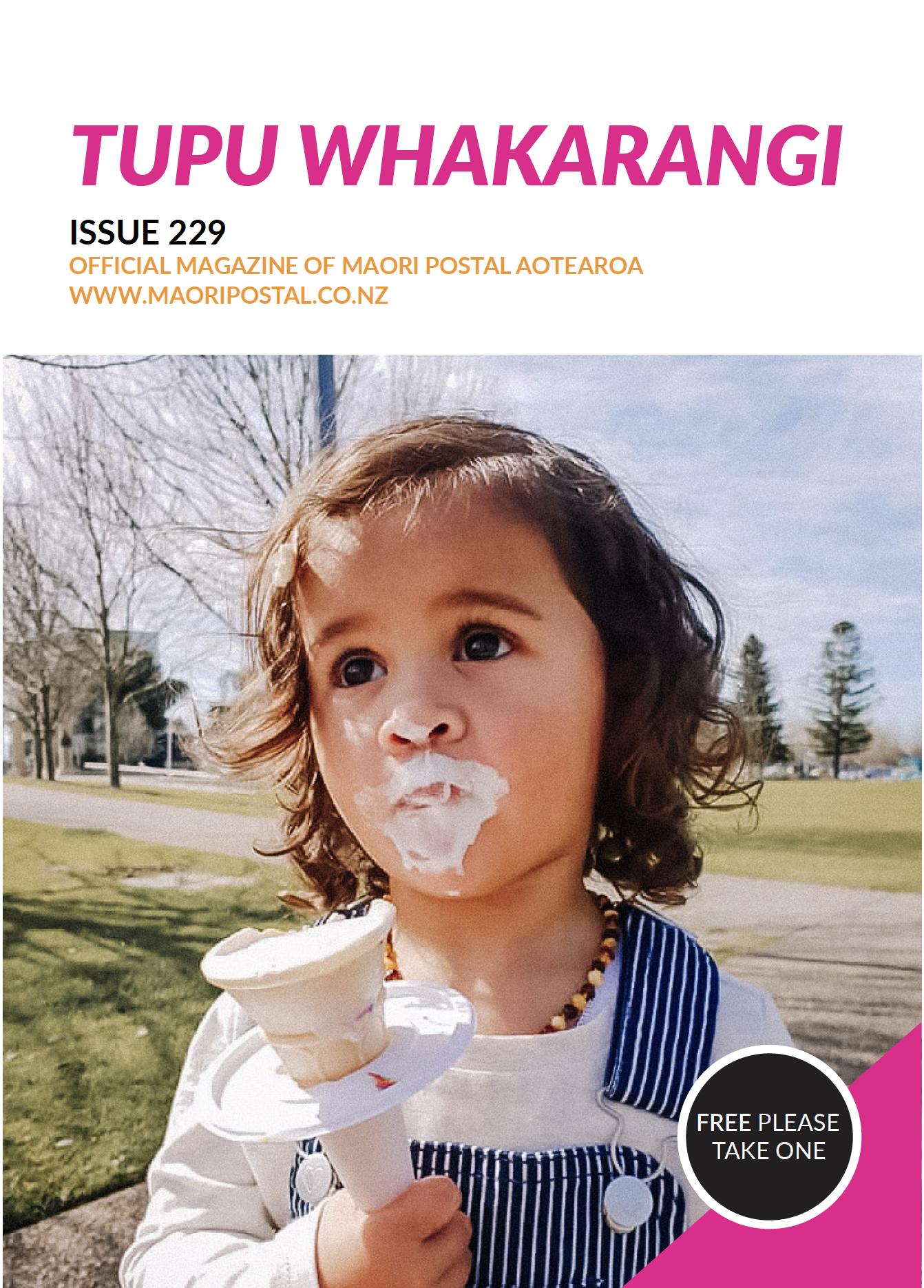 Tupu Whakarangi Issue 229 Ice-cream