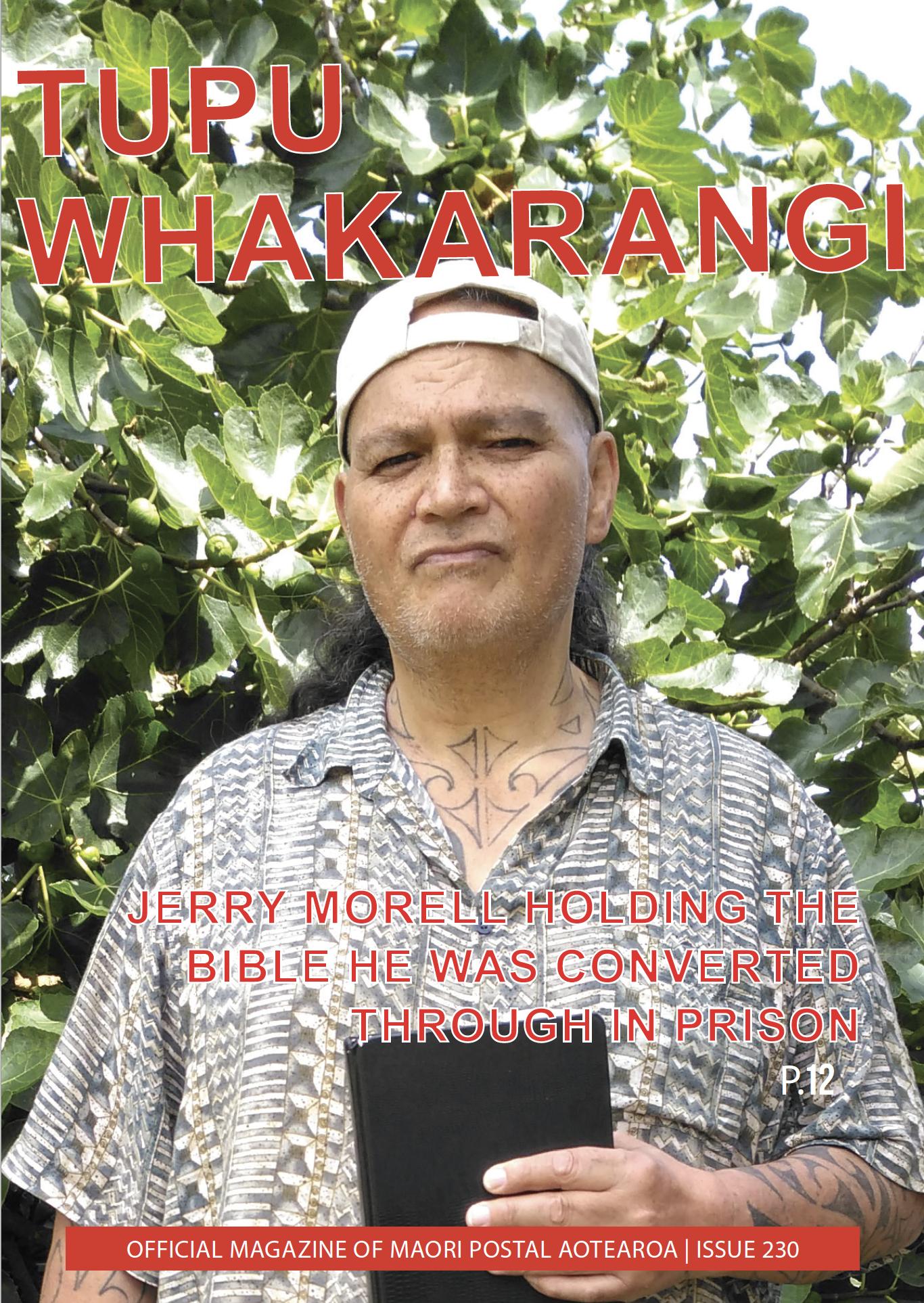 Tupu Whakarangi Issue 230 Jerry