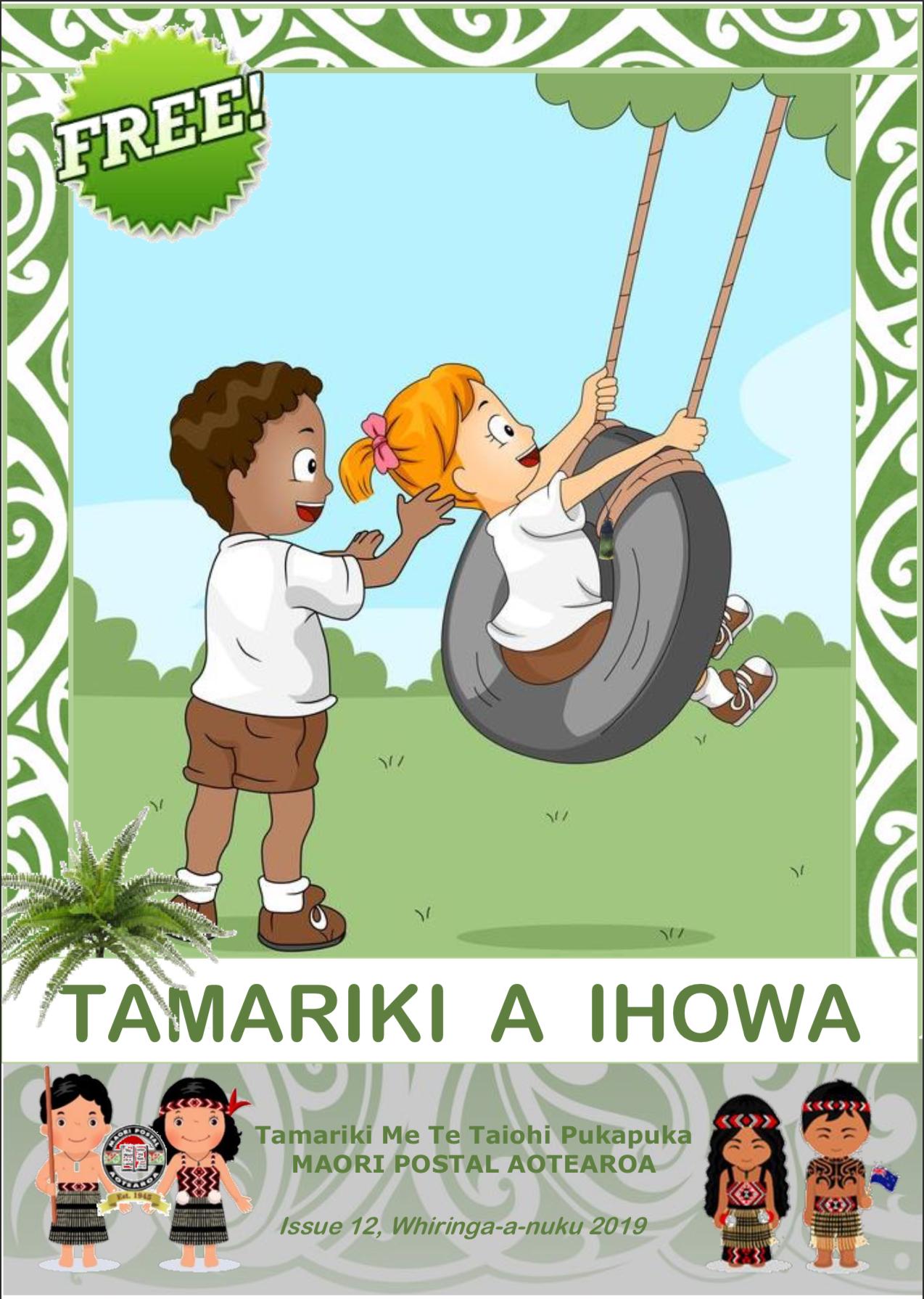 Tamariki A Ihowa Issue 12.png