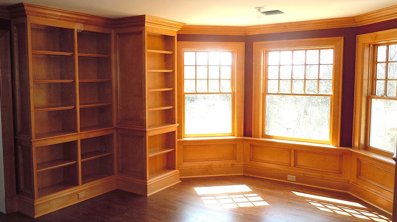 Custom maple library
