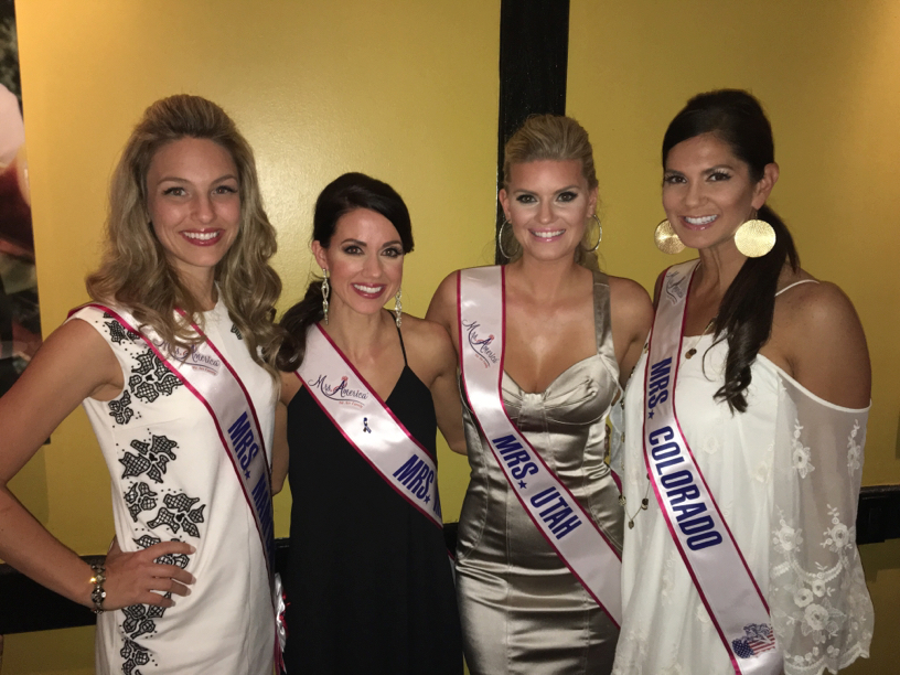 Mormon girls unite! The only person missing is our very own Mrs. America, Natalie Luttmer.