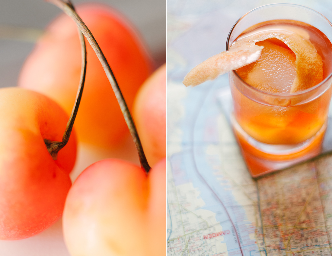 Orange cocktail - Baltimore Food Photography