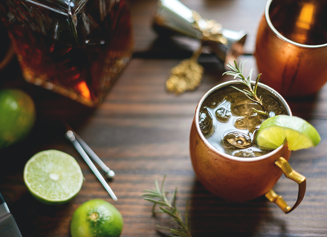 Moscow Mule - Maryland Food Photography