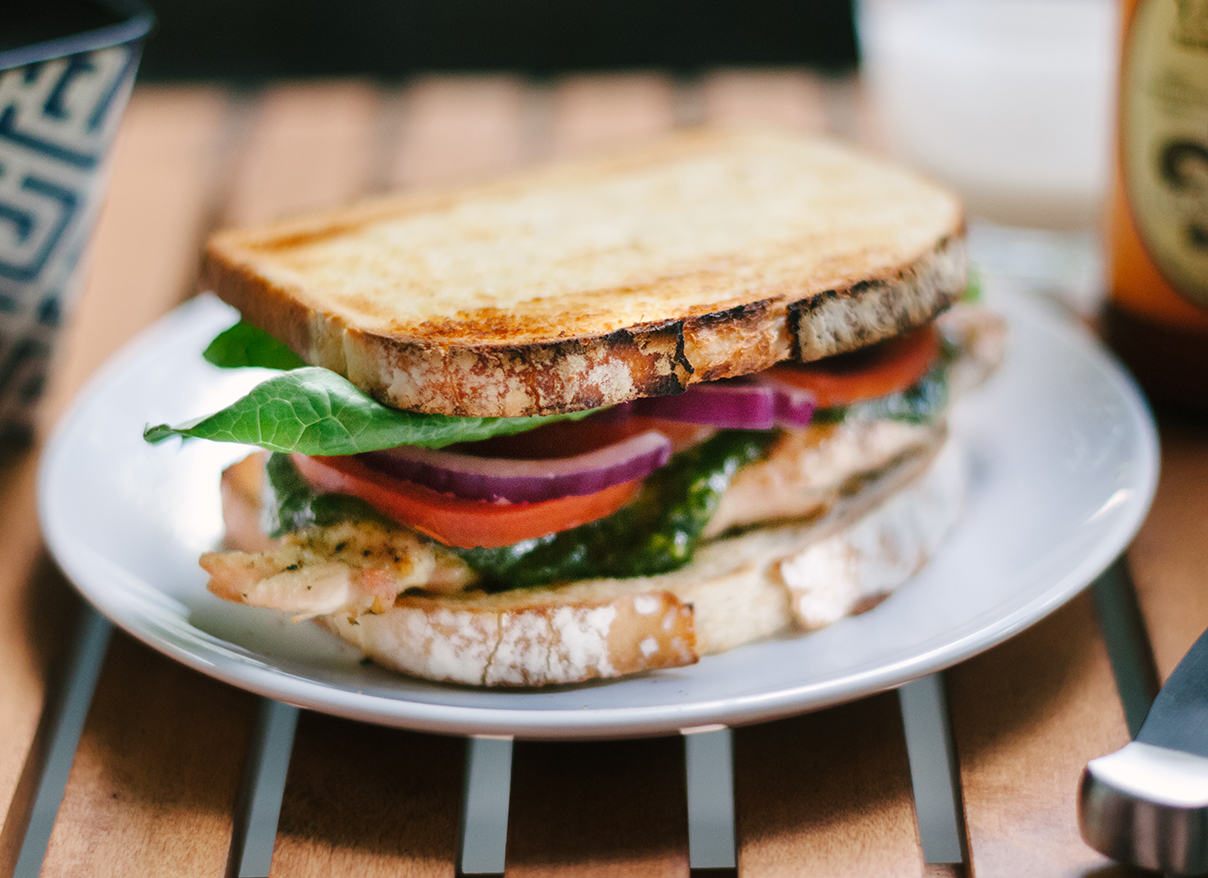 Grilled Chicken Sandwich - Baltimore Food Photography