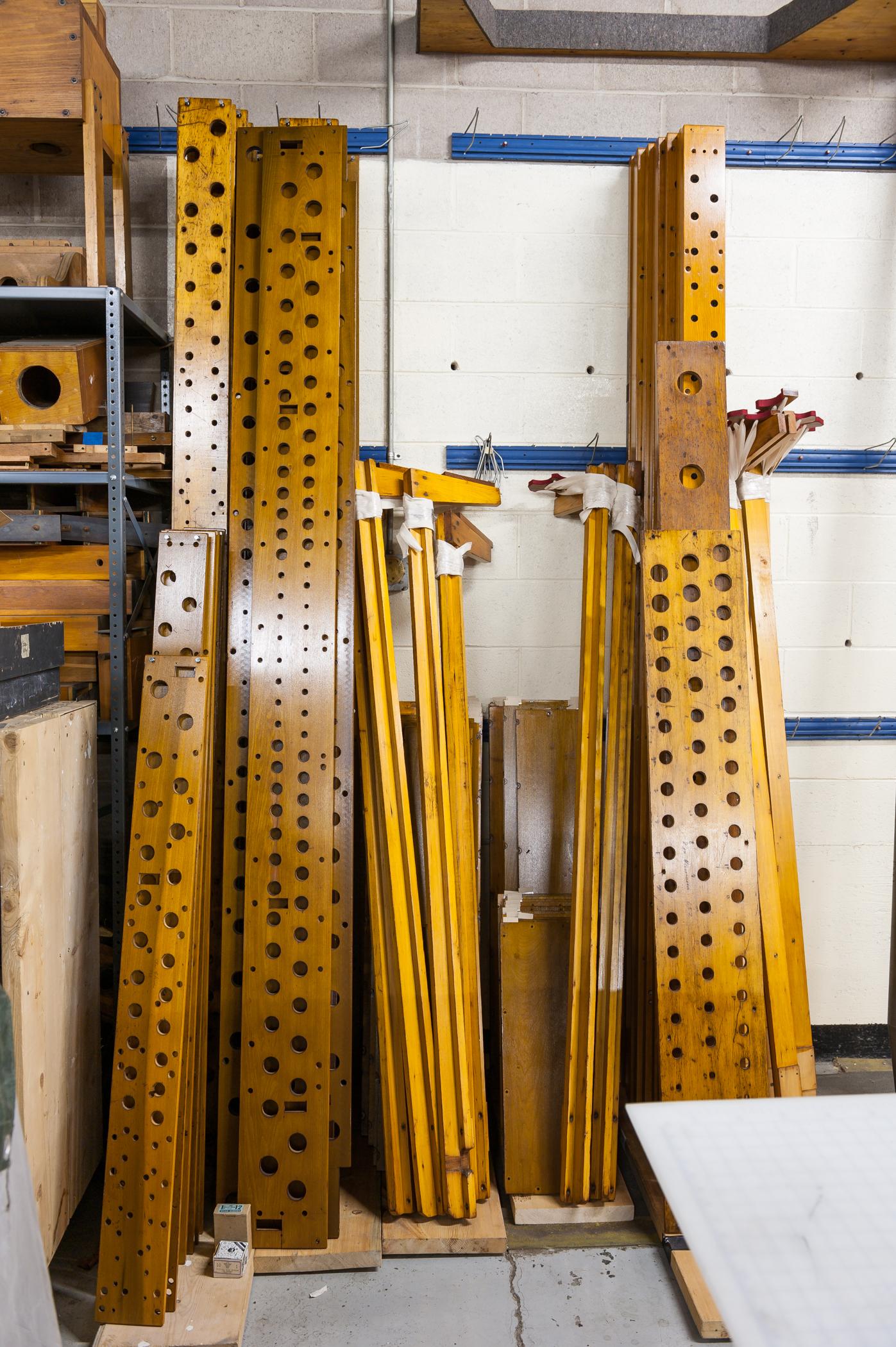 Refinished wood components ©2014 David Ottenstein
