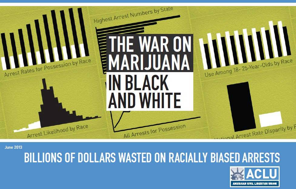 The ACLU's report on racist marijuana arrests in the United States.