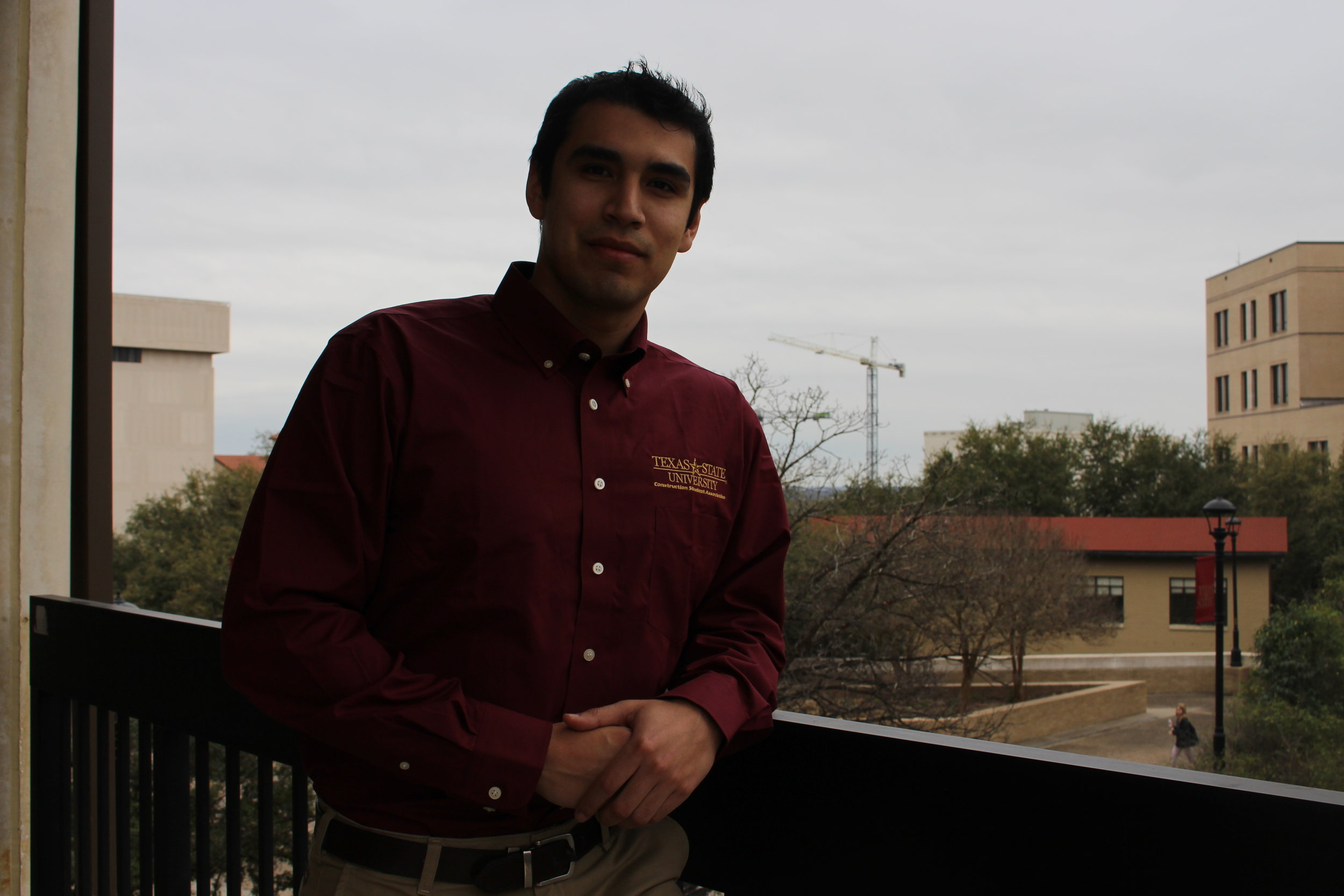 Treasurer -Darrin Tinajero - Hometown: San Antonio, TxGraduation: Fall 2020Field of Interest: CommercialPast Experience: ASC and ABC CompetitionsTasks: Responsible for managing CSA budgets and expenses. Any purchases made must get the Treasurer's approval first.Contact: d_t276@txstate.edu