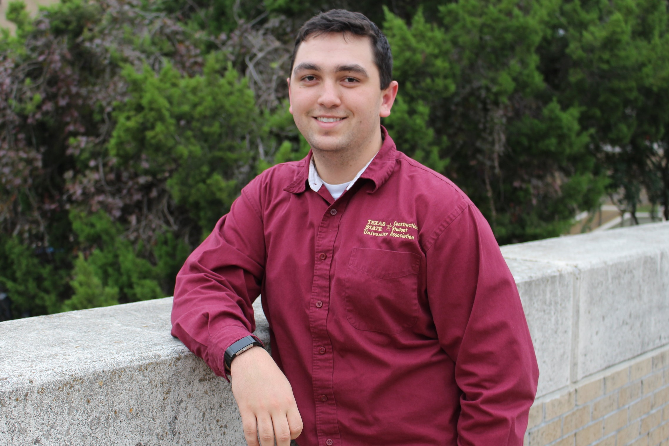 Vice President-Austin Elms - Hometown: San Antonio, TexasGraduation: Spring 2021Field of Interest: Commercial, IndustrialPast Experience: 2 ABC Competitions, 2 ASC Competitions, NAHB Competition, Currently at Wurzel Builders.Previous Positions: TreasurerTasks: Assists President with organization and decision making. Also plays a large role in reaching out to employers and other organizations.Contact: ame82@txstate.edu