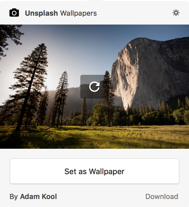 The simple Unsplash Wallpapers app.