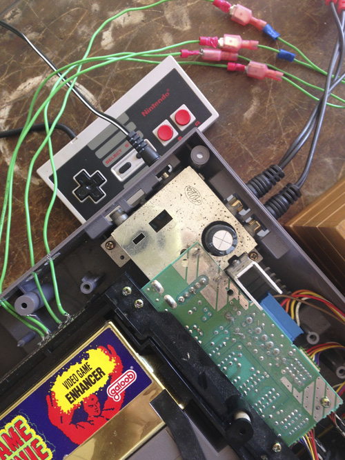 """NES Glitch Box"" - Joel Cretan"
