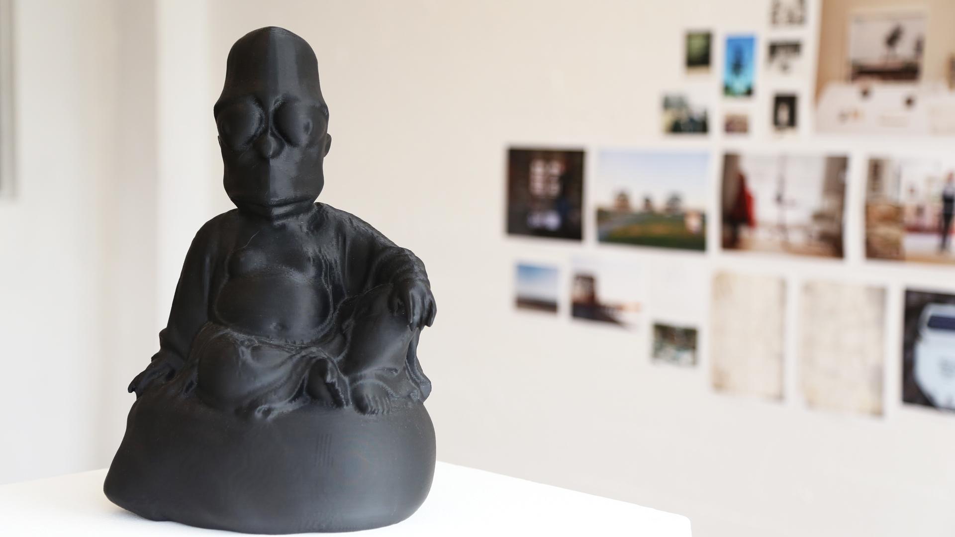 Dark Matter: #buddha #simpson, Morehshin Allahyari