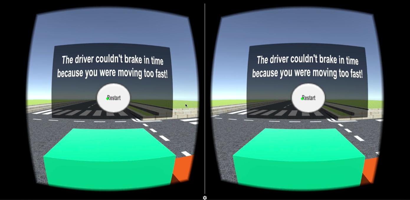 Bike Safe VR - User Research and UX Design — Annick Huber