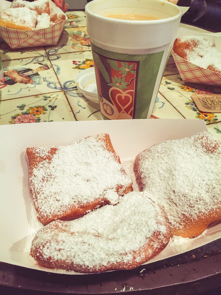 No trip to New Orleans would be complete without beignets. Be forewarned: powdered sugar is the glitter of pastries.
