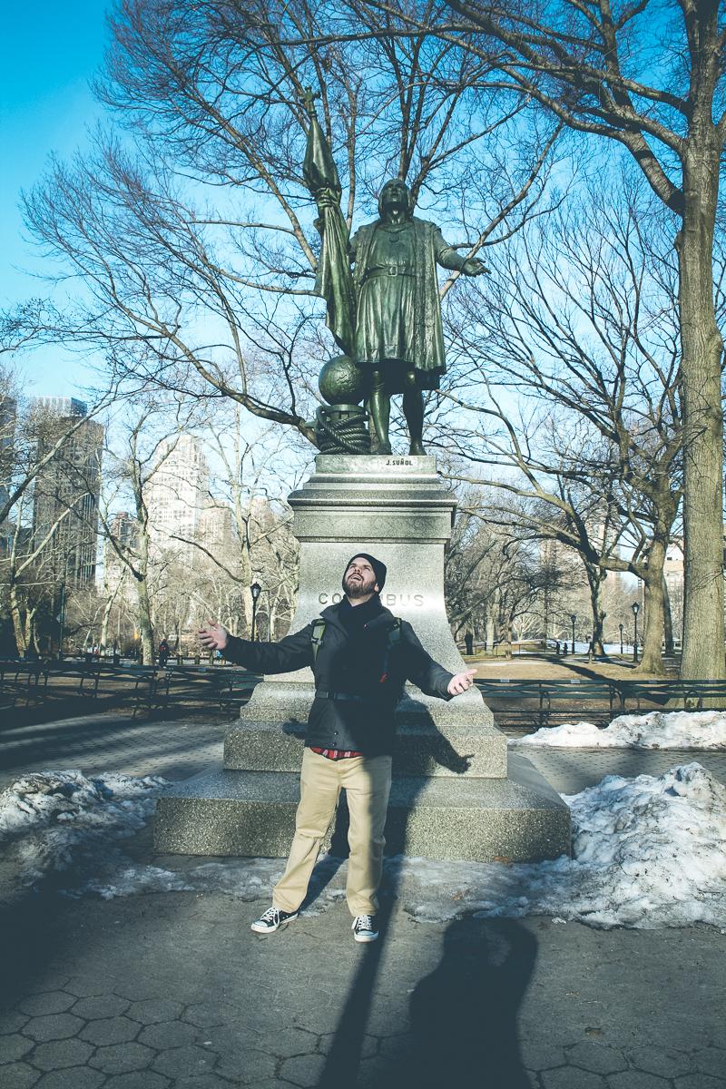 I feel like imitating statues is my new favorite hobby.