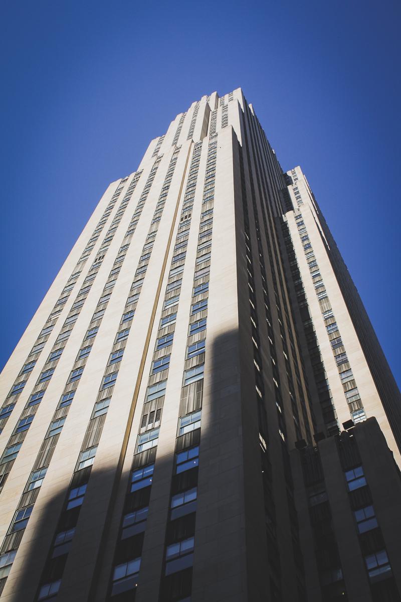 30 Rock itself, the GE Building.