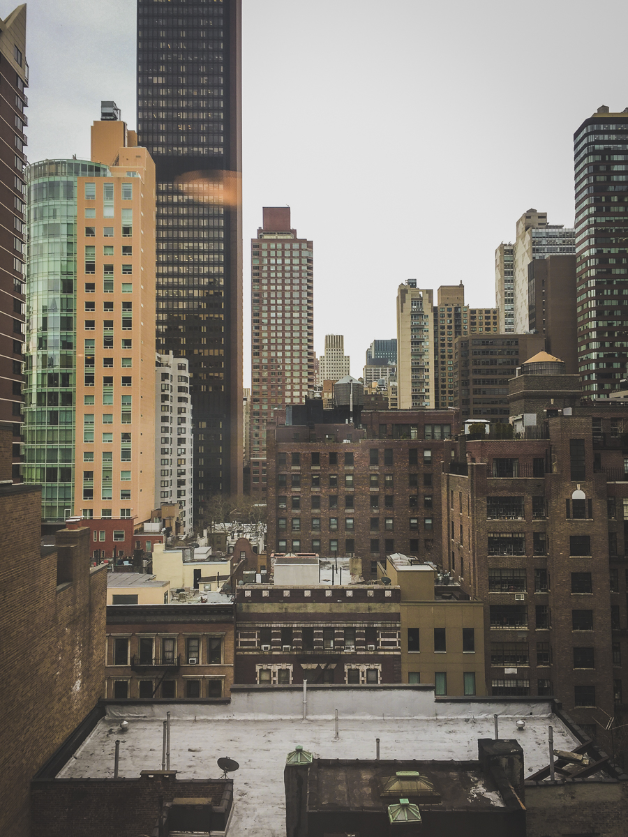 Day 5, the last day in New York. This was the view from our hotel!