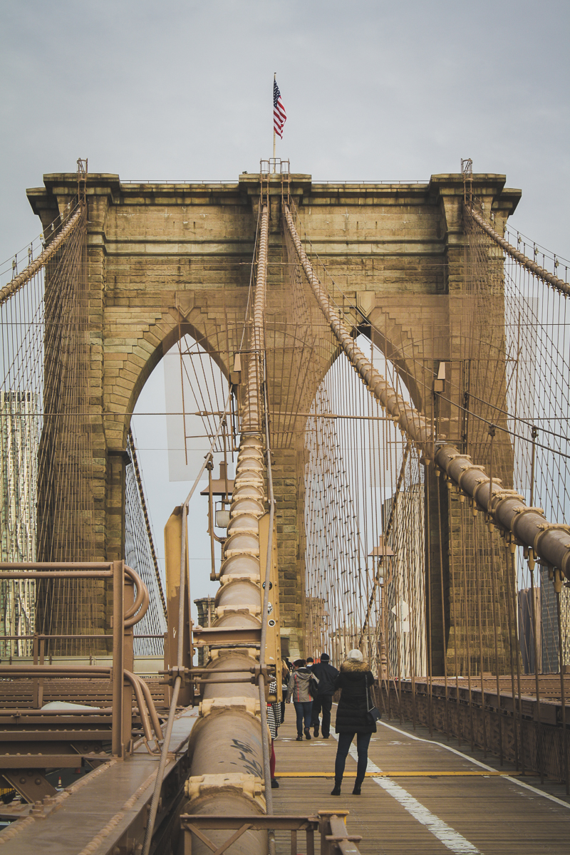 I loved the Brooklyn Bridge. Heck, I love bridges. Why do I love bridges?!