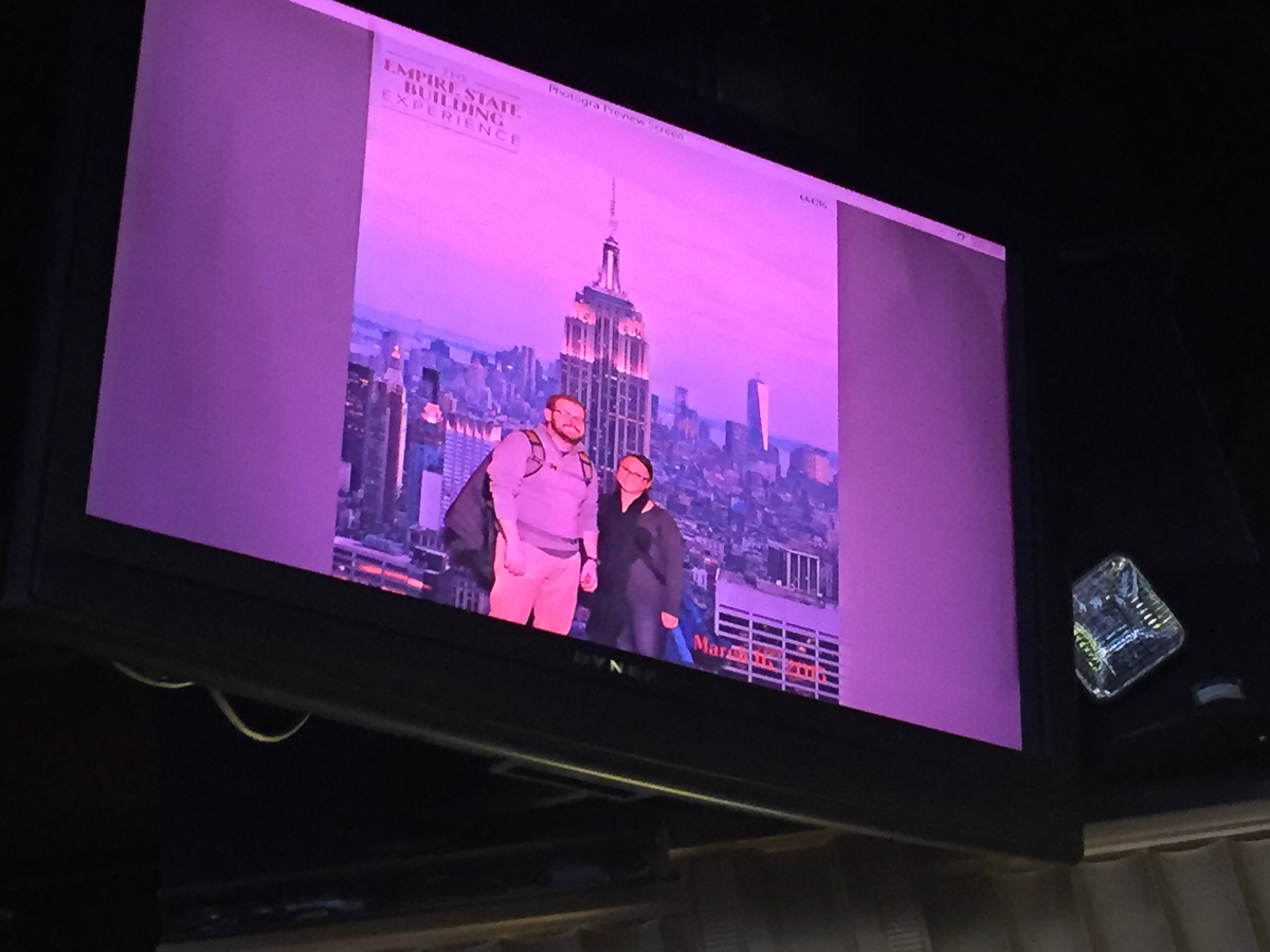 LOL to green-screen tourist photos. No, we will not buy your $30 photo.