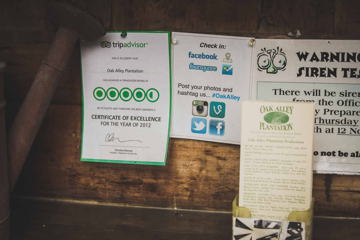 Trip Advisor may or may not have guided us here!