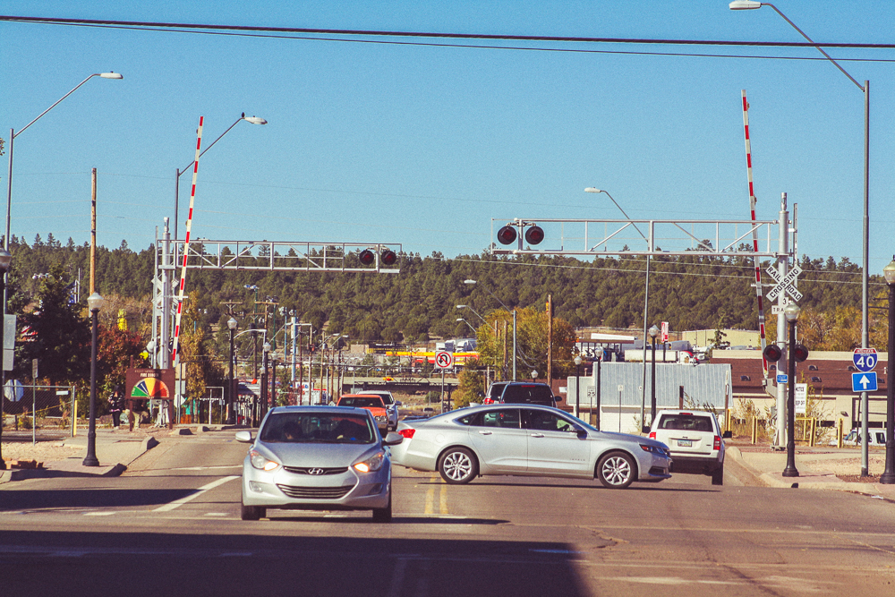 The town is a junction for both road and for rail.