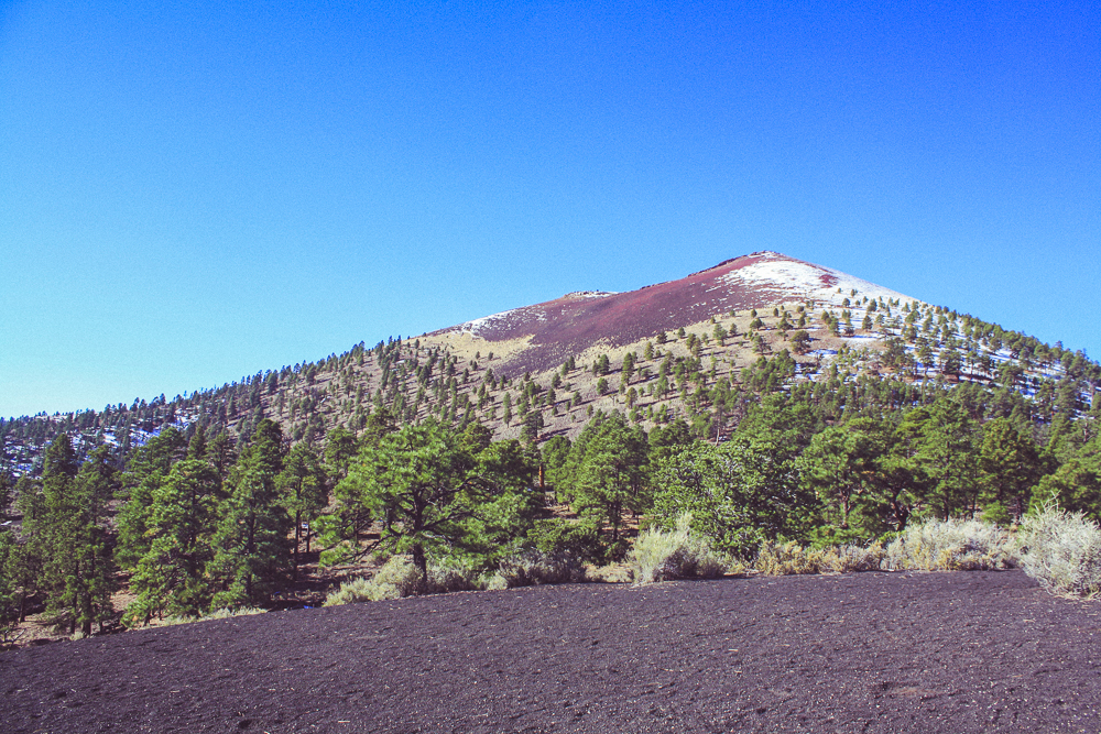 That's better! Sunset crater from the opposing, sunny side!