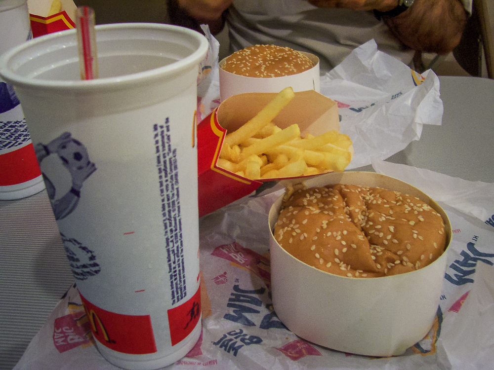 You better believe I got my fast-food on when in Thailand!