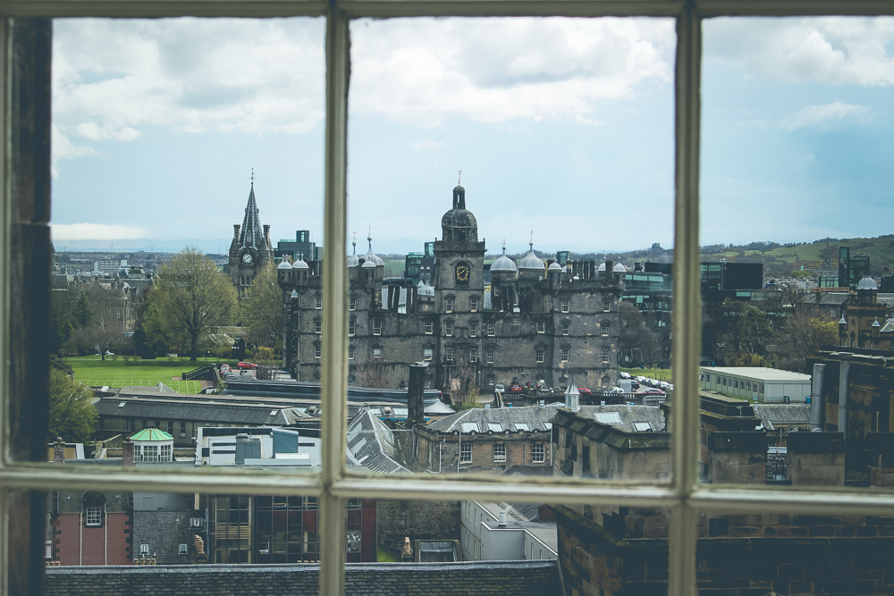 "Just beyond Greyfriars was  George Heriot's School , a 400-year old private school. Just as Greyfriars likely served as inspiration to J.K. Rowling, this school may have been an inspirational stand-in for Hogwarts.      It does organize its students into four ""houses"", it would seem."