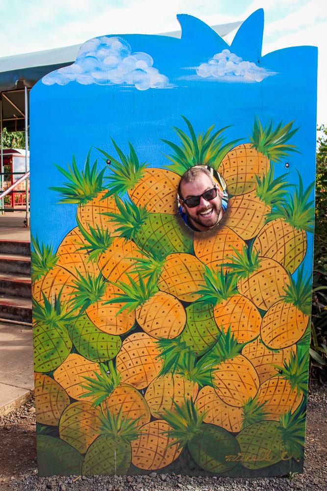 I'm a pineapple!  (Uooohhh...pineapple pen!)