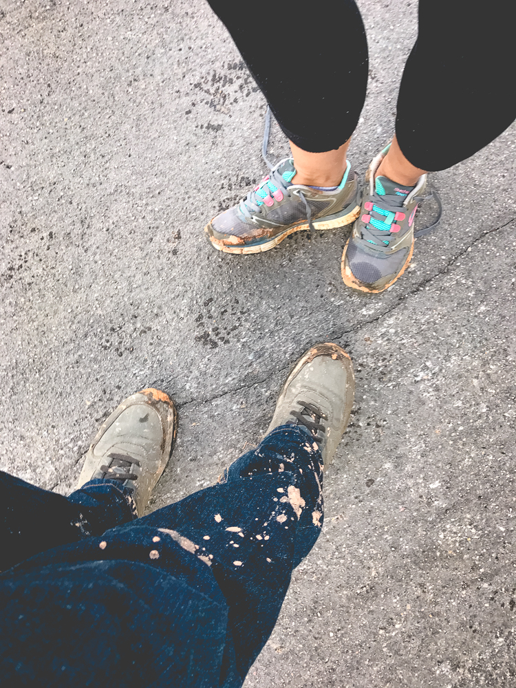 This mud didn't just dirty, it stained!