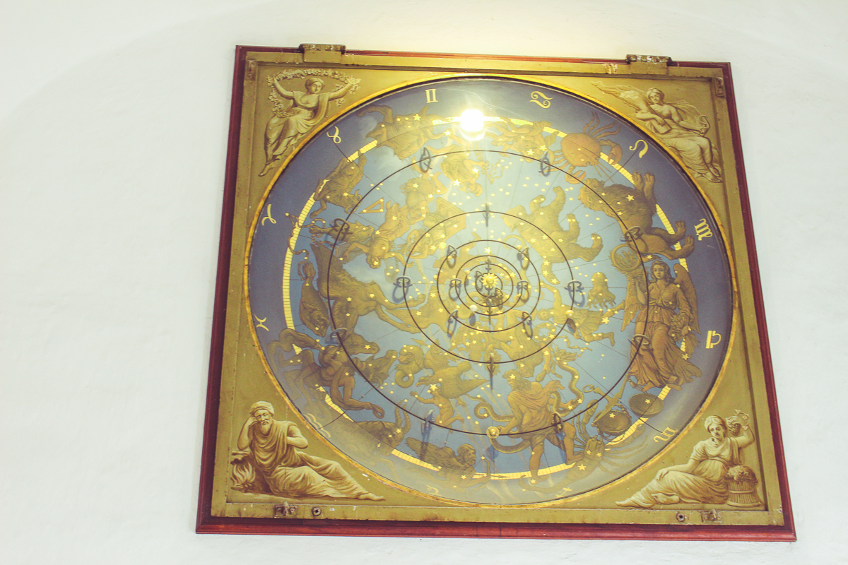 An awesome astronimical clock of our solar system. I wants!