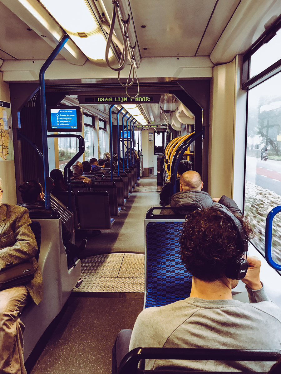 I can't hype of the Amsterdam Tram service enough! It was tremendously convenient, clean, and affordable. It made hopping around the city a fun and easy game.