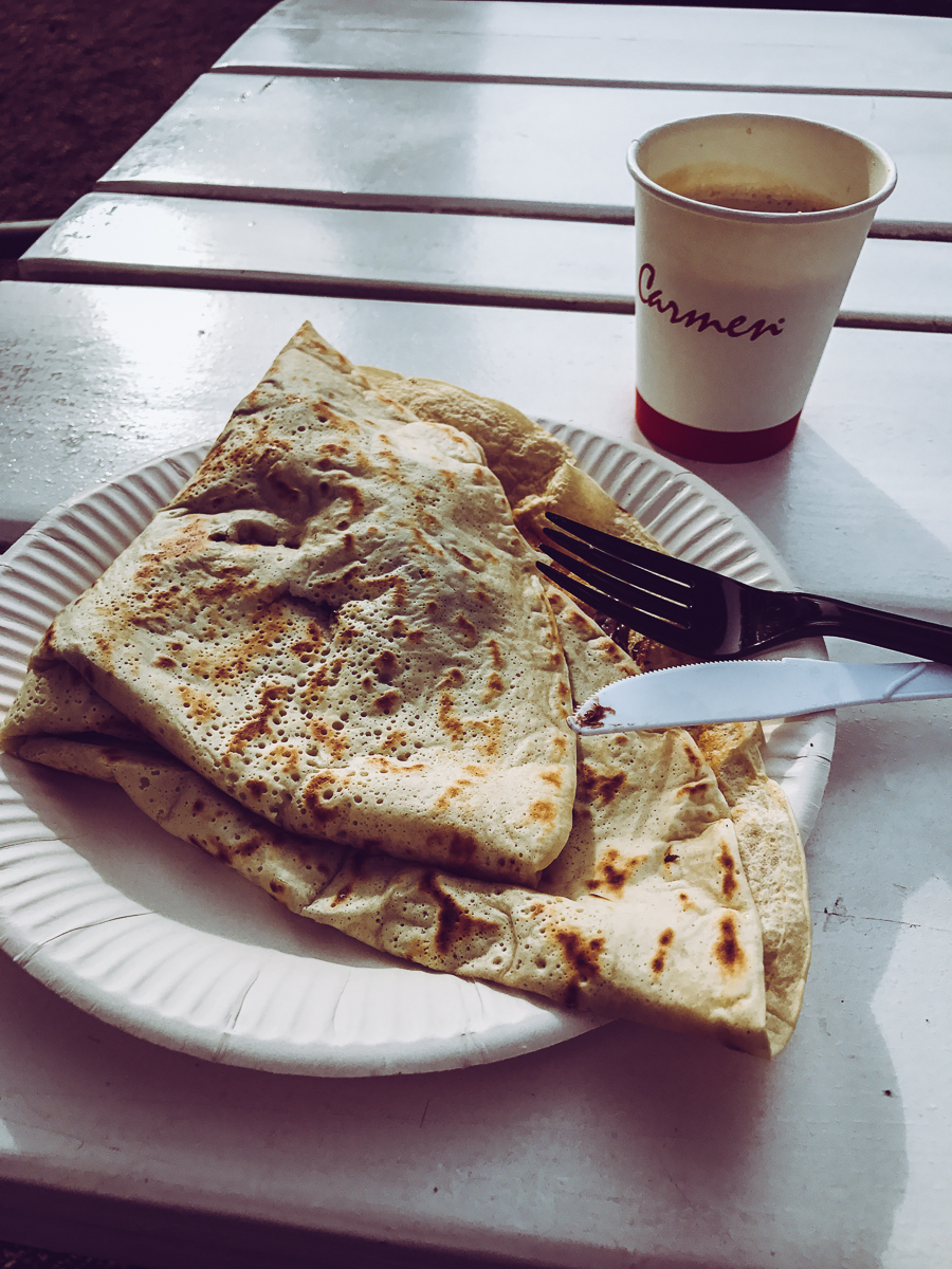 After the Van Gogh Museum, I polished off a crêpe. Cause, you know… Europe .