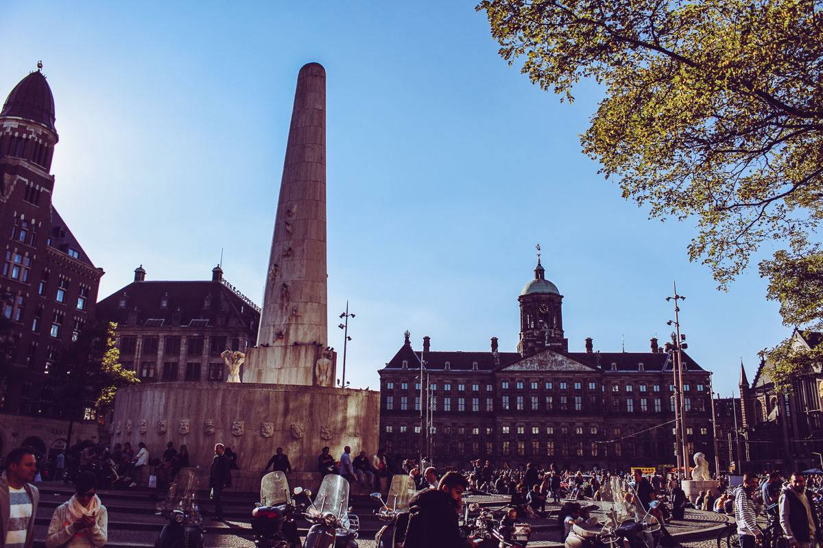 Now to Dam Square. Though bustling and merry, I couldn't help but remember my early trip research touching on the  Dam Square Shooting .