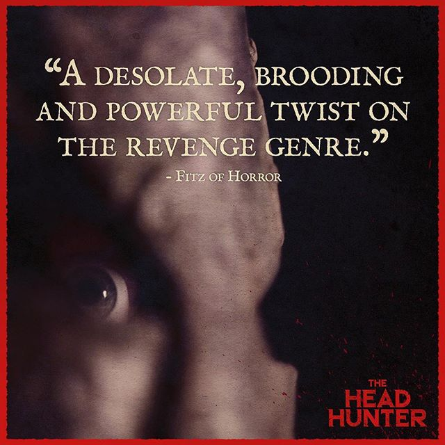 Simple stories reimagined equal unexpected magic. @theheadhuntermovie @fitz_of_horror