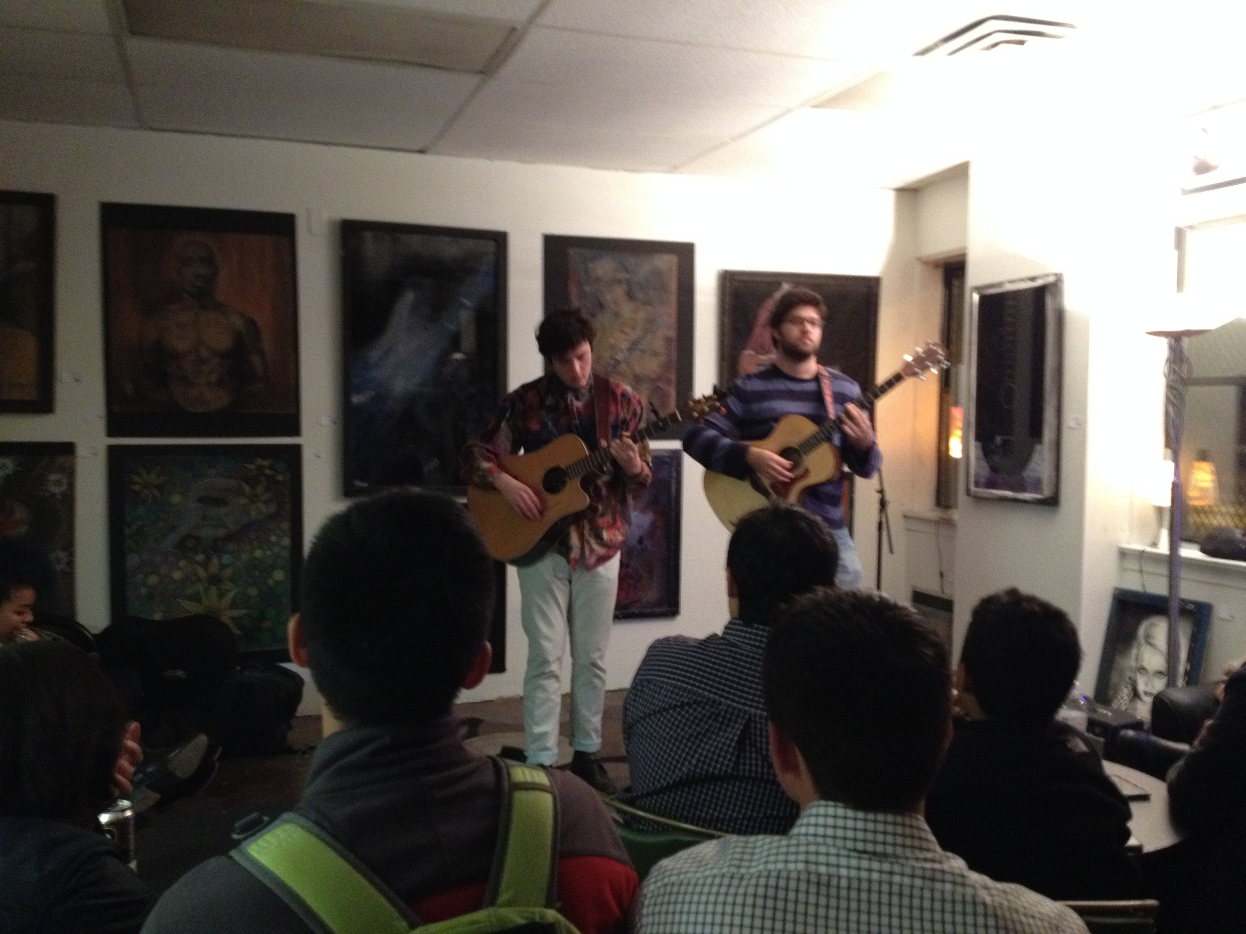 Charlie Lubeck from the Glee Project performing at our Second Friday showcase.