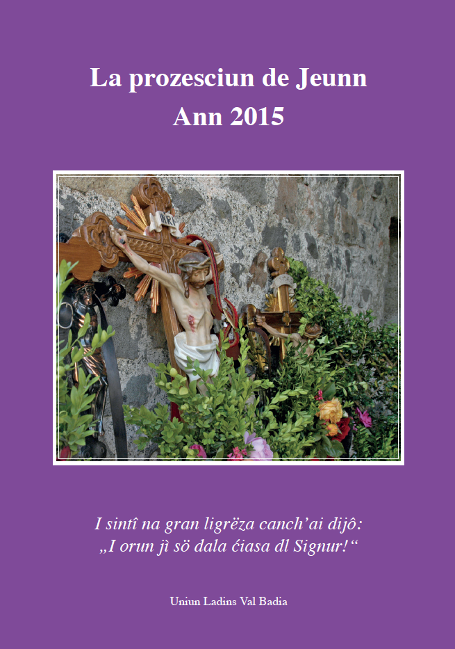 LA PROZESCIUN DE JEUNN 2015