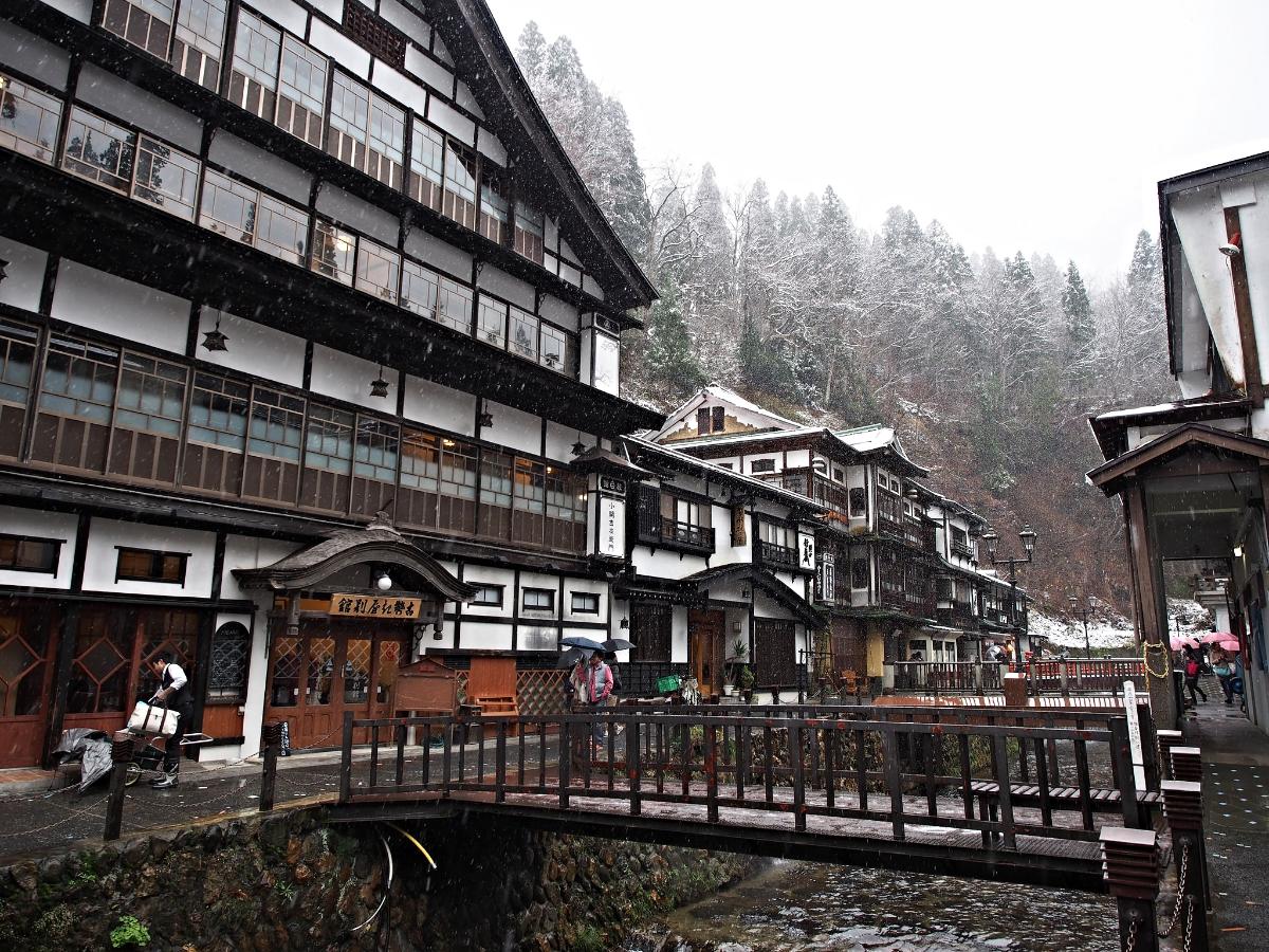 Ginzan Onsen in Yamagata Prefecture. ©TOKI